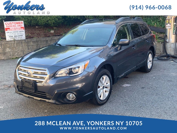 sold 2015 subaru outback 2 5i premium in yonkers yonkers autoland