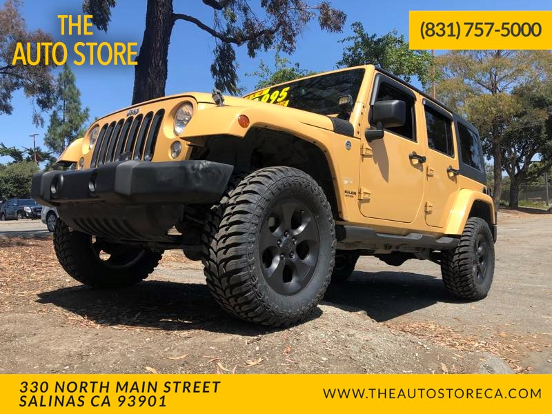 2014 Jeep Wrangler Unlimited Sahara >> 2014 Jeep Wrangler Unlimited Sahara The Auto Store