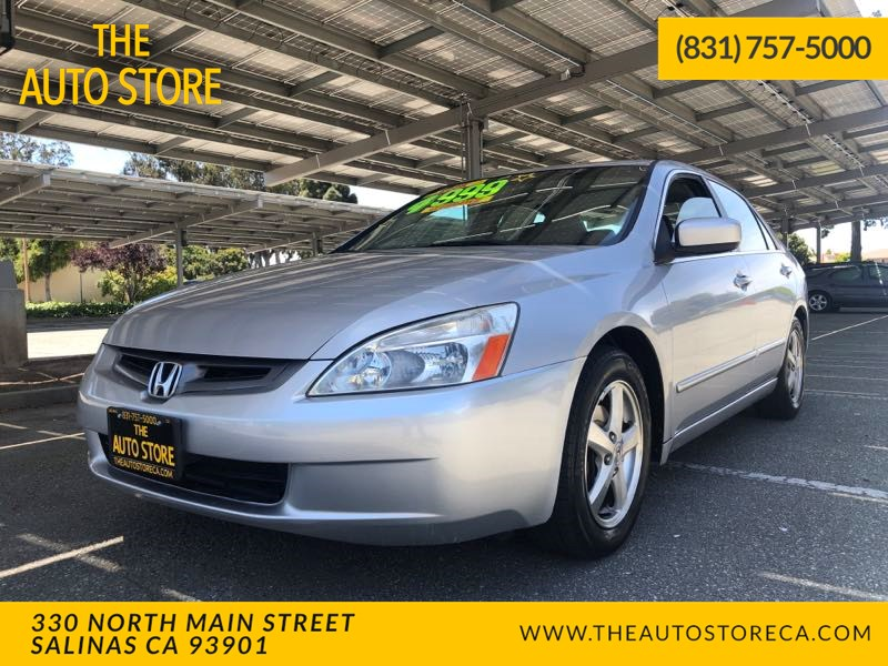 2003 Honda Accord Sdn EX