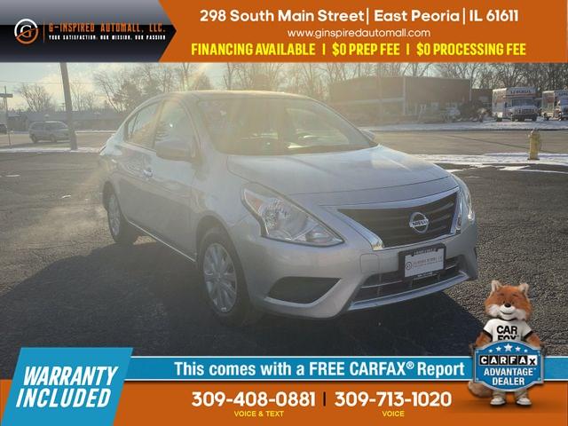 Sold 2015 Nissan Versa S In East Peoria