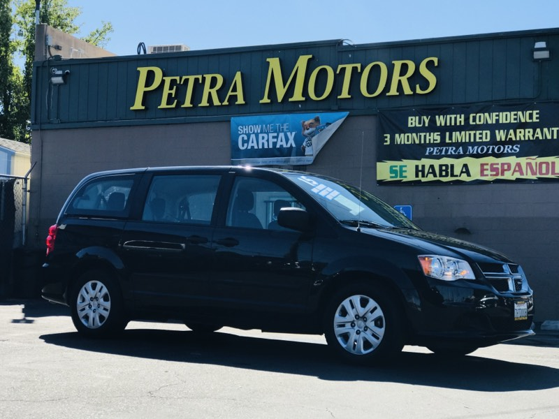 2015 Dodge Grand Caravan Family Ready $189.per mth o.a.c.