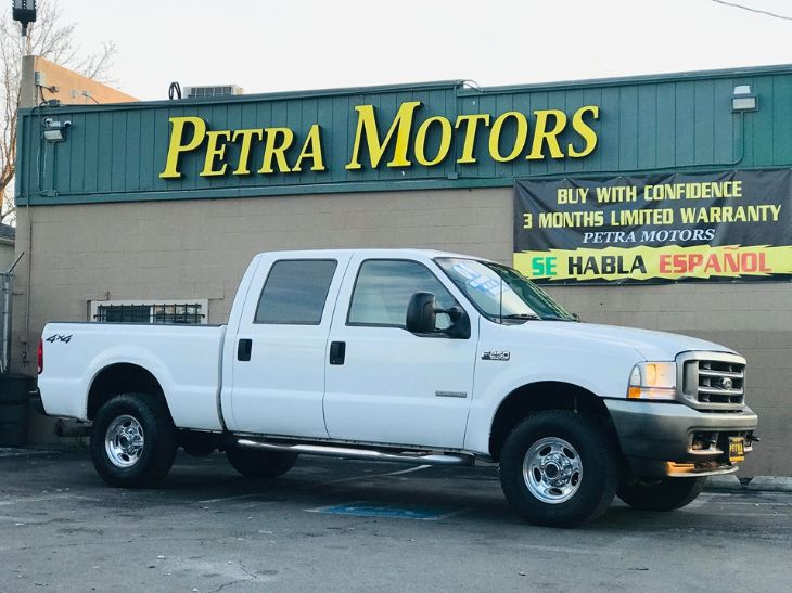 2004 Ford F-250 4X4  CREW CAB DIESEL DEAL PENDING ! We have a Deposit