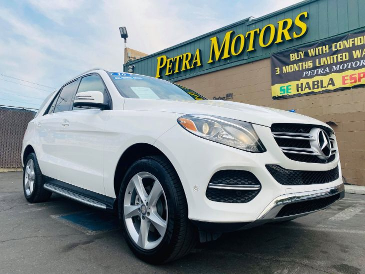 2016 Mercedes-Benz GLE 350 GLE 350 4MATIC