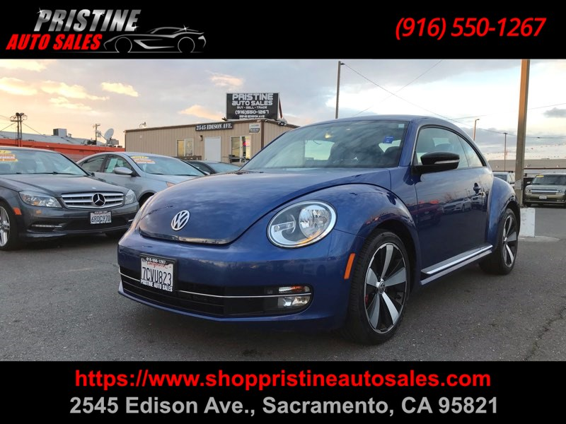 2013 Volkswagen Beetle Coupe Turbo PZEV