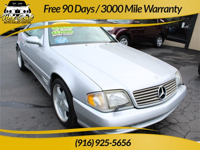 2001 Mercedes-Benz SL500 Extra Low Mileage!