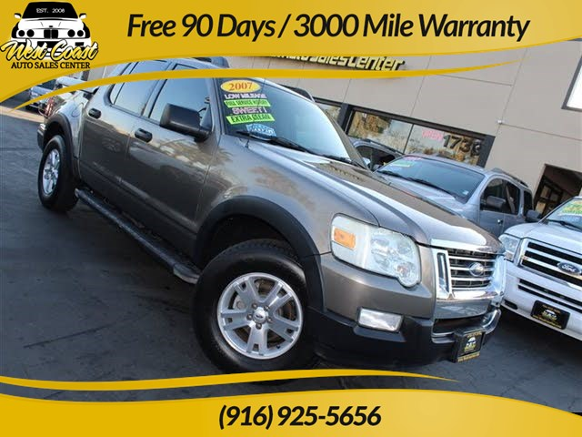 2007 Ford Explorer Sport Trac XLT, Extra Low Mileage!