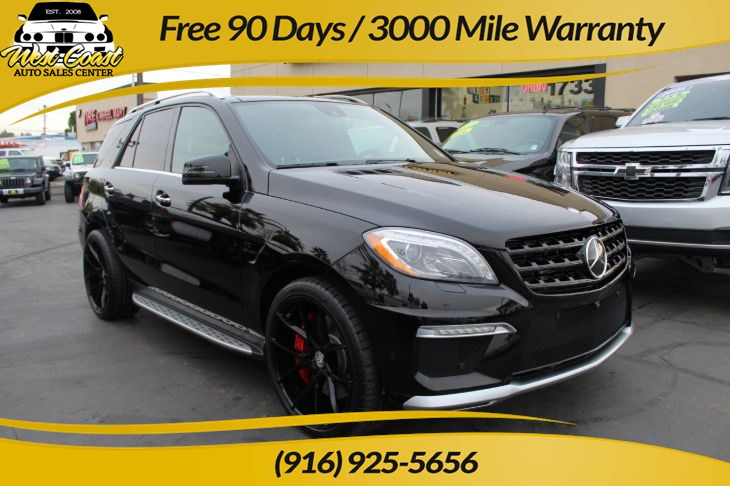2014 Mercedes-Benz ML 63 AMG | AWD, Pano Roof, Heated/Ventilated Seats, Nav