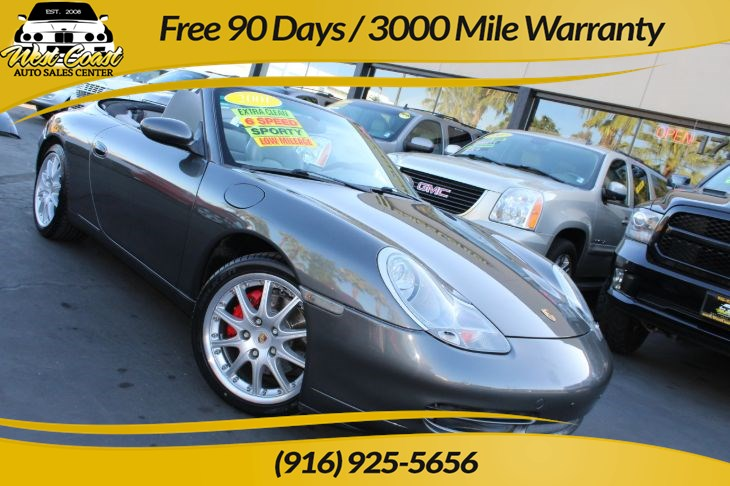 2001 Porsche 911 Carrera 4 Cabriolet w/ Hardtop, 6 Speed Manual!