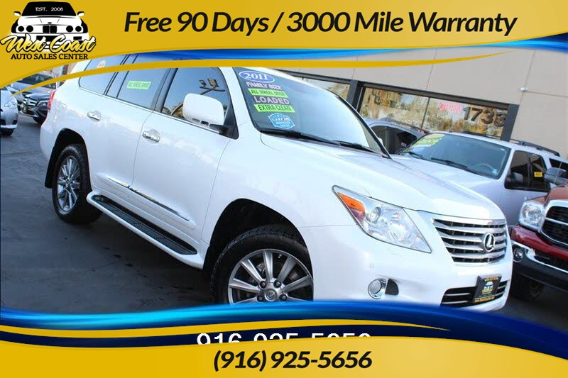 2011 Lexus LX 570 Luxury, AWD, 27 Service Records!