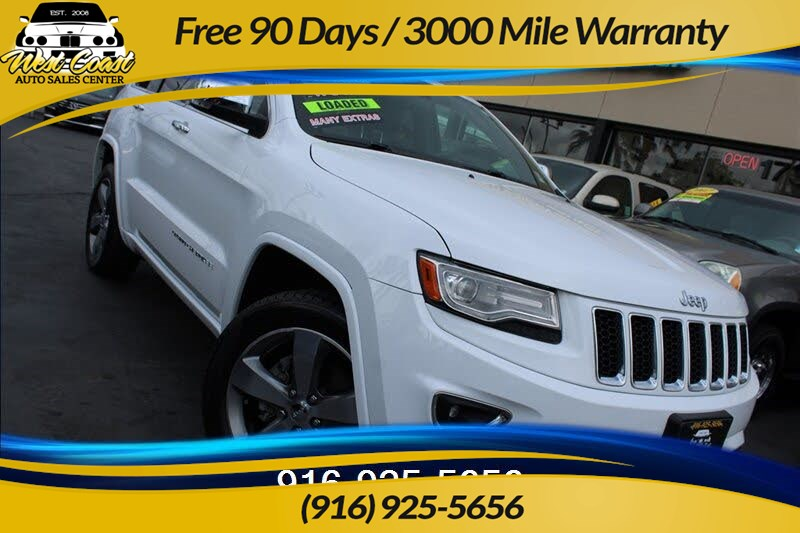 2014 Jeep Grand Cherokee Overland, Loaded, Extra Clean!