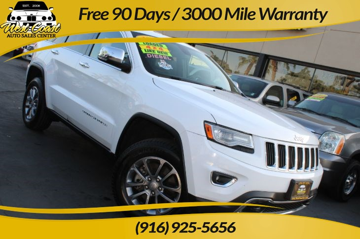 2014 Jeep Grand Cherokee Limited, 4x4, 1 Owner!