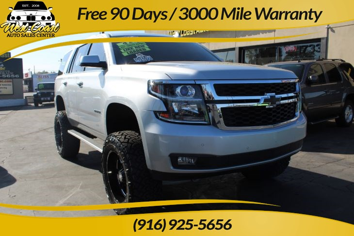 2016 Chevrolet Tahoe LT Lifted 4WD DVD 1 Owner