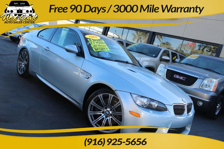 2008 BMW M3 6 Speed Manual with Extra Low Mileage!