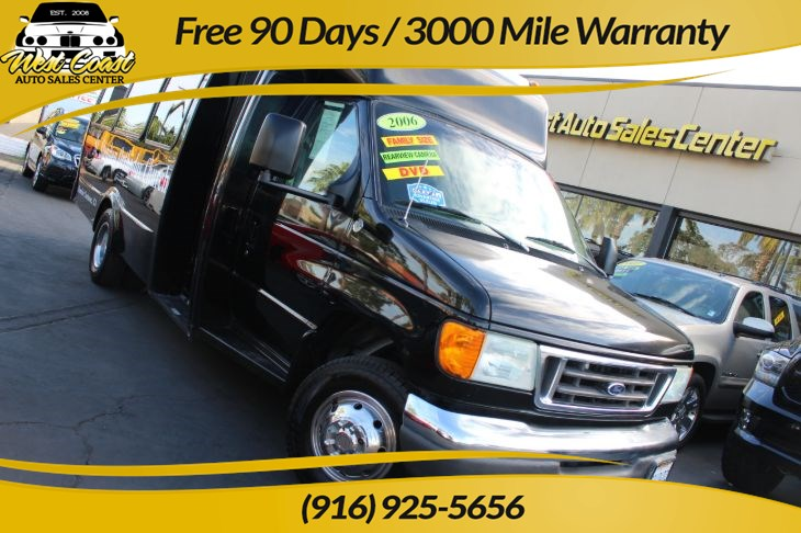 2006 Ford Econoline Commercial Cutaway E450, 16 Passenger Bus!