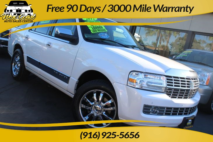 2012 Lincoln Navigator 4x4, With Extensive Maintenance Records!