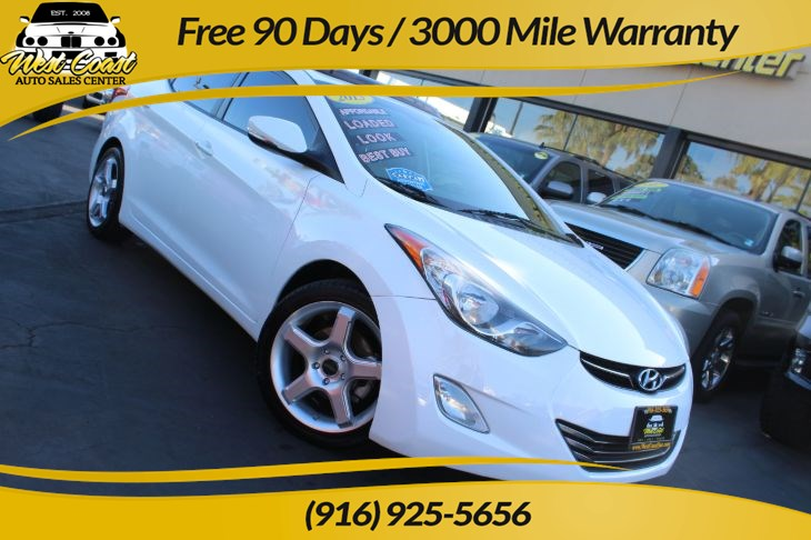 2013 Hyundai Elantra Limited, Gas Saver, Great Service Records!