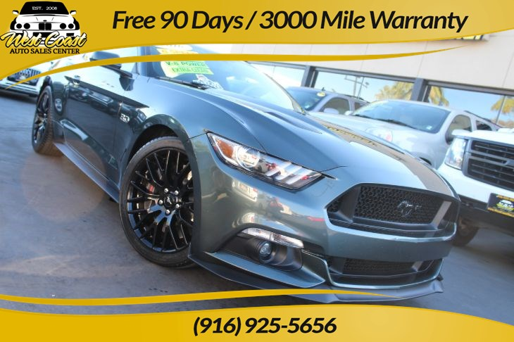 2016 Ford Mustang GT Premium 6 Speed Manual