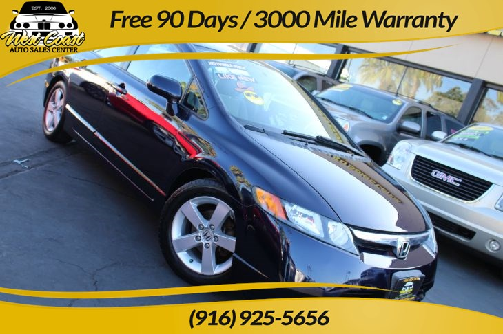 2007 Honda Civic Sdn EX, Gas Saver, 1 Owner, Extra Low Miles!