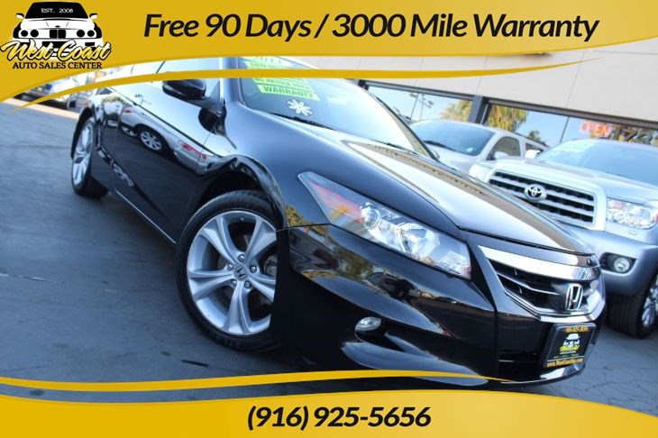 2011 Honda Accord Coupe EX-L V6 w/Navi