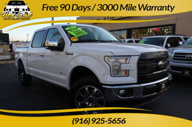 2015 Ford F-150 Lariat 4WD Loaded!!