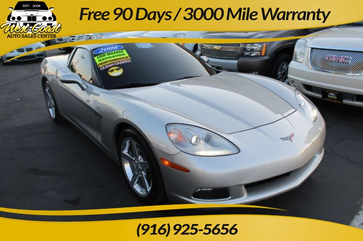 2006 Chevrolet Corvette Heads up display & Navigation