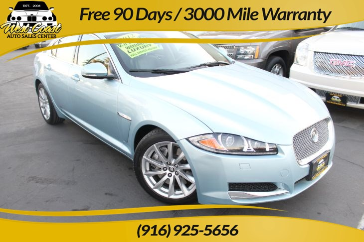 2012 Jaguar XF Luxury & Loaded