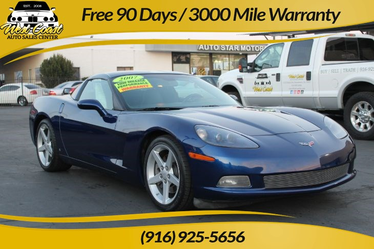 2007 Chevrolet Corvette Targa top coupe