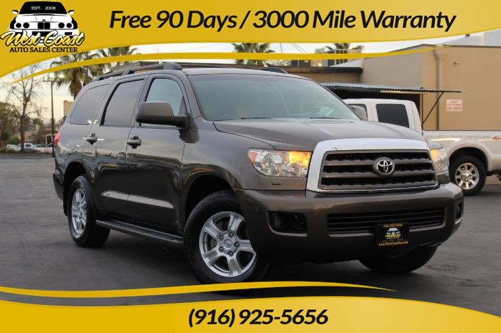 2008 Toyota Sequoia SR5 4WD & Leather