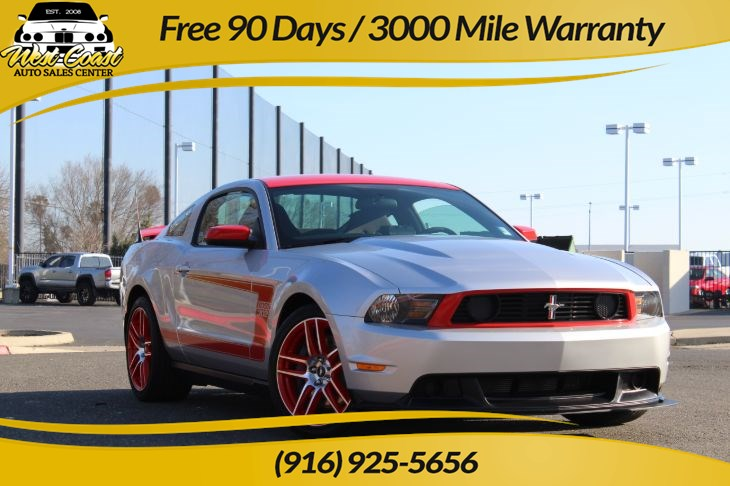 2012 Ford Mustang Boss 302 Laguna Seca Edition # 227