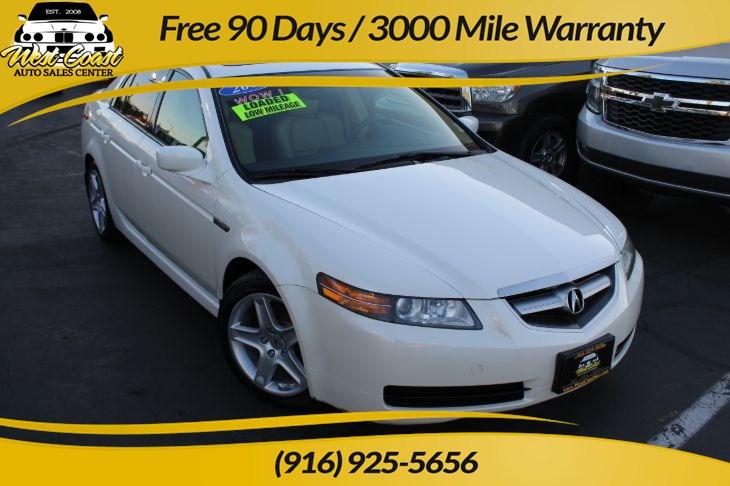 Sold 2006 Acura Tl W Navi Timing Belt Done At 73k In Sacramento