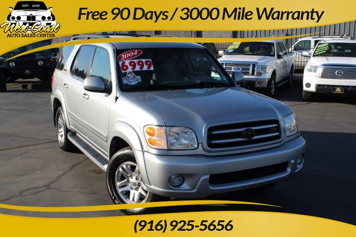 2004 Toyota Sequoia Limited 1 Owner