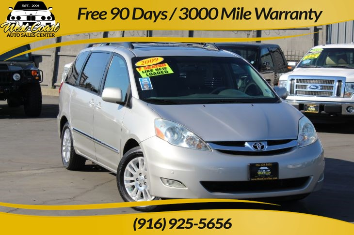 2009 Toyota Sienna Limited with Navi & Dvd System