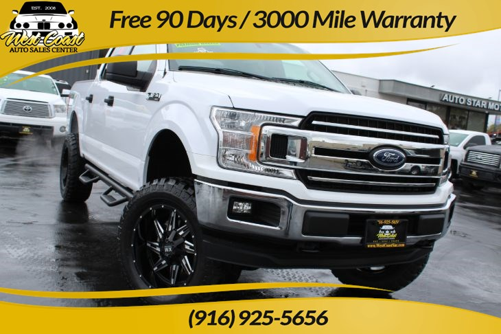 "2019 Ford F-150 XLT 4x4 6"" Lift and new Wheels and Tires"