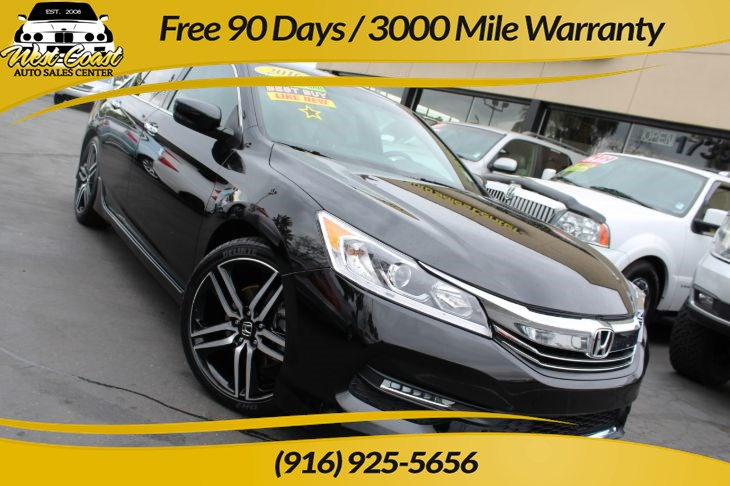 2016 Honda Accord Sedan Sport & Extra Clean & Low Miles