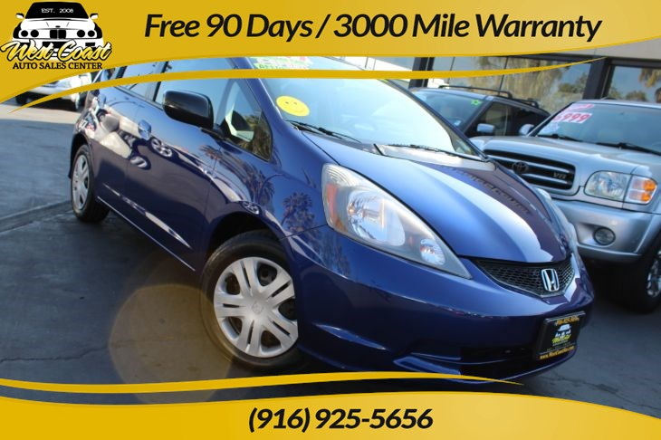 2009 Honda Fit Base 5 Speed & Gas Saver