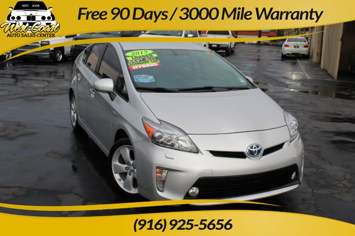 2015 Toyota Prius Five & Leather & Extra Clean