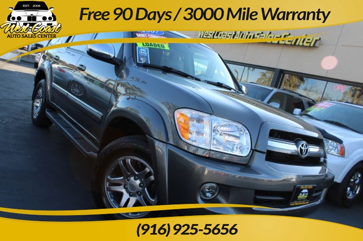 2007 Toyota Sequoia Limited & Navi & Dvs system & Timing Belt Done