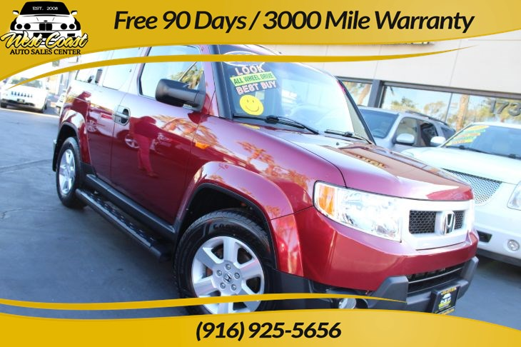 2009 Honda Element EX 4WD & Extra Clean