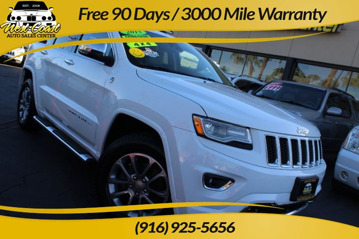 2015 Jeep Grand Cherokee Overland | *One Owner*, 4WD, Many Features!