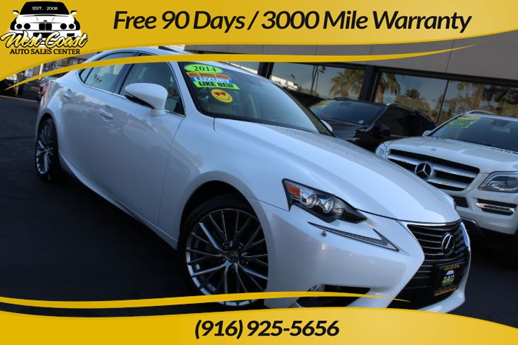 2014 Lexus IS 250 | AWD, 19 Service History