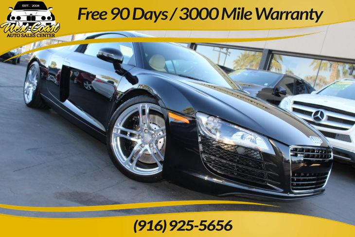 2012 Audi R8 4.2 quattro | *One Owner*, Manual, Extra Low Miles