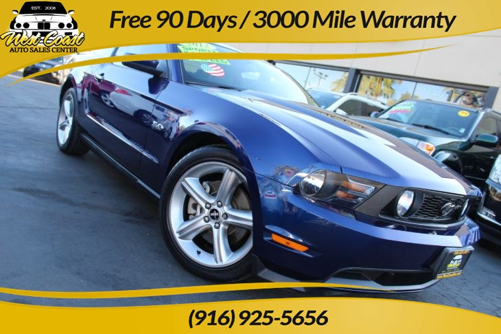 2012 Ford Mustang GT Premium | *One Owner*, 6 Speed Manual