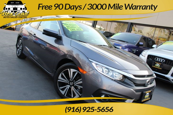 2016 Honda Civic Coupe EX-T | *One Owner*, Gas Saver