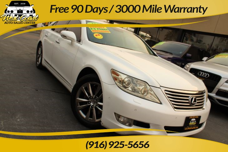 2010 Lexus LS 460 | 21 Service History, Accident-Free CarFax
