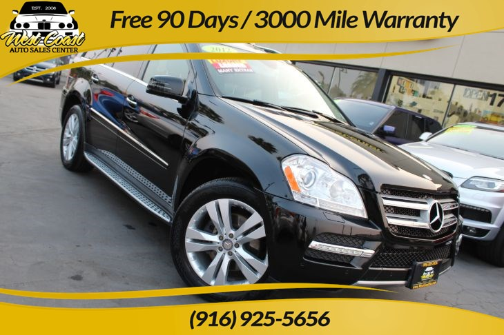 2012 Mercedes-Benz GL 450 4MATIC | 3rd-row Seating, Extra Clean