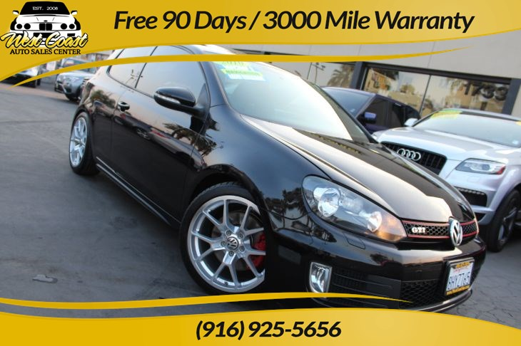 2010 Volkswagen Golf GTI 2.0T | Sunroof, Navigation, Accident-Free CarFAX