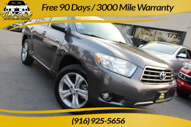 2008 Toyota Highlander Sport | *One Owner*, Extra Clean