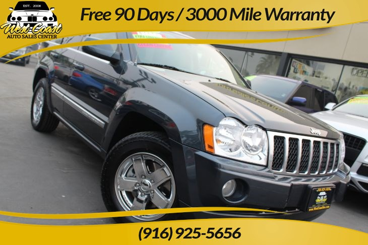 2007 Jeep Grand Cherokee Overland | Hemi, Extra Low Miles, Navigation