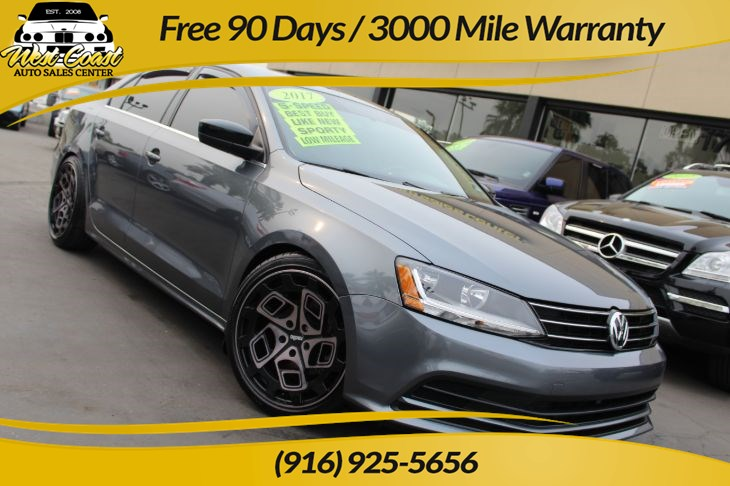 2017 Volkswagen Jetta 1.4T S | *One Owner*, 5 Speed Manual, Many Mods
