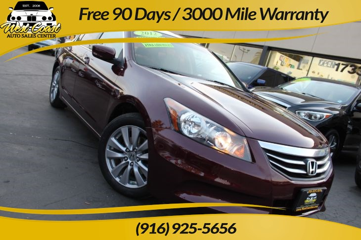 2012 Honda Accord Sedan EX | Gas Saver, Extra Low Miles